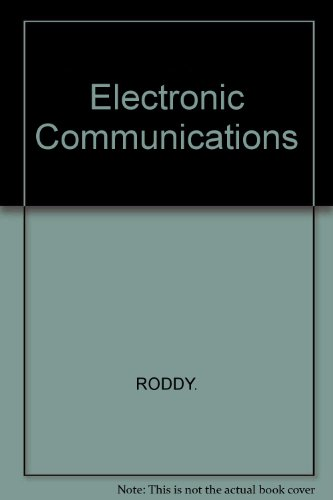 9780133523034: Electronic Communications