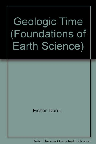 9780133524765: Geologic Time (Foundations of Earth Science)