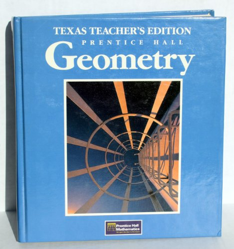 9780133527339: Prentice Hall geometry: With lesson plans to support Texas teacher appraisal system (Prentice Hall mathematics)