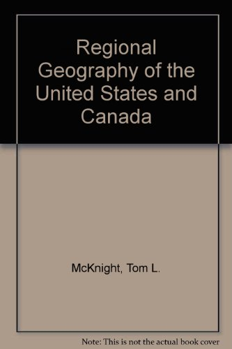 9780133529562: Regional Geography of the United States and Canada