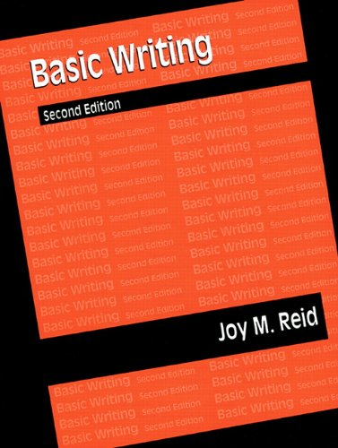 9780133536577: Basic Writing, Reid Academic Writing: Text