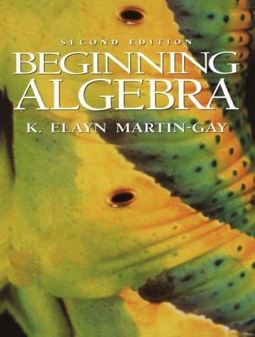 9780133536652: Beginning Algebra (2nd Edition)