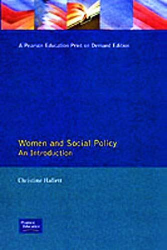 9780133538892: Women And Social Policy