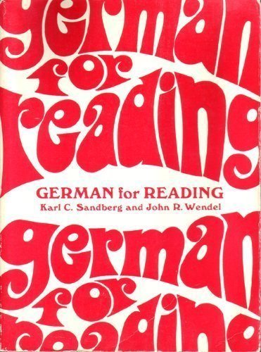 9780133540192: German for Reading: A Programmed Approach