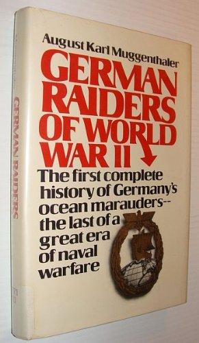 9780133540277: German Raiders of World War II