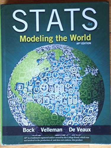 9780133541250: Stats Modeling the World with Math XL for School Student Access AP Edition