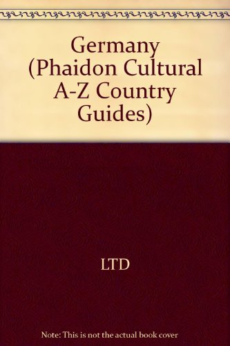9780133541434: Phaidon Germany (A Phaidon cultural guide) (English and German Edition)