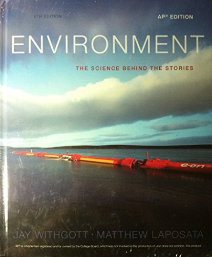 9780133541816: PEARSON AP Environment: The Science Behind the Stories, 2014, Student Edition, AP Edition, 5th Edition - w/ eText + Test Prep Workbook for AP