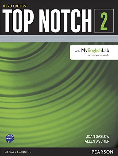 9780133542776: Top Notch 2 Student Book with MyEnglishLab (3rd Edition)