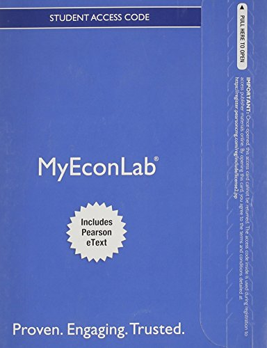 9780133543711: NEW MyEconLab with Pearson eText -- Access Card -- for Essentials of Economics