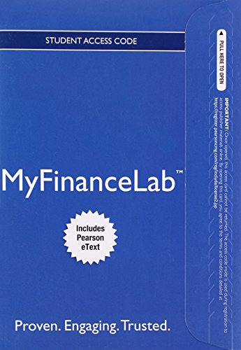 9780133543759: NEW MyFinanceLab with Pearson eText -- Access Card -- for Principles of Managerial Finance