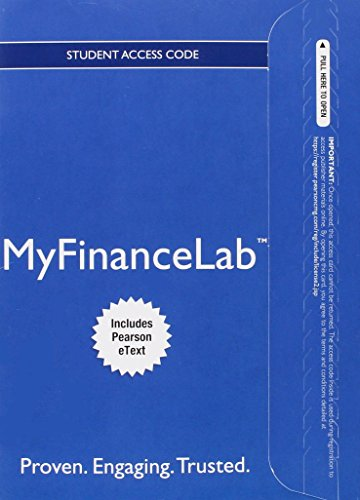 9780133543889: NEW MyFinanceLab with Pearson eText -- Access Card -- for Fundamentals of Corporate Finance