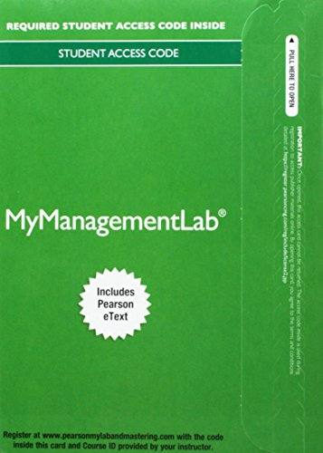 9780133543971: 2014 MyManagementLab with Pearson eText -- Access Card -- for International Business: A Managerial Perspective