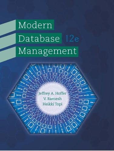 9780133544619: Modern Database Management (12th Edition)