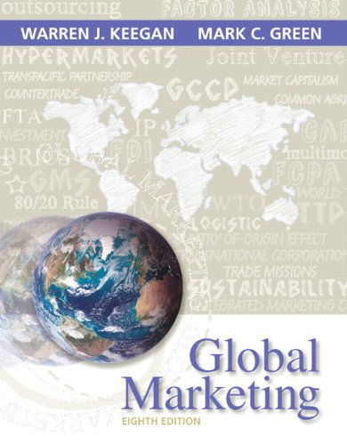 9780133545005: Global Marketing (8th Edition)