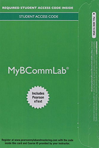 9780133545814: 2014 MyBCommLab with Pearson eText - Access Card - for Excellence in Business Communication