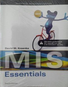 9780133546897: MIS Essentials (Annotated Instructor Edition)