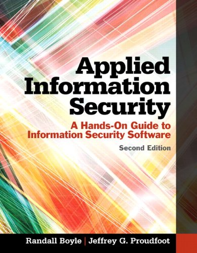 9780133547436: Applied Information Security: A Hands-on Guide to Information Security Software