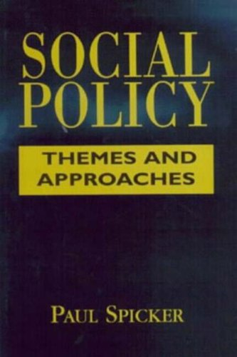 9780133547627: Social Policy: Themes and Approaches