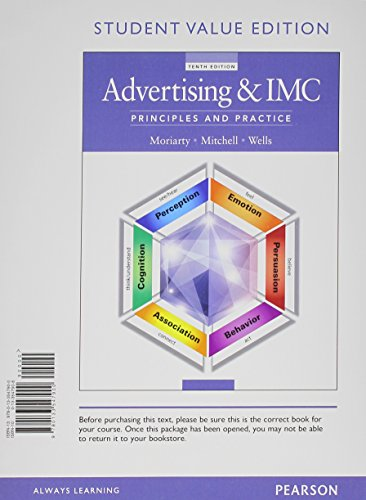 9780133547900: Advertising & IMC: Principles and Practice, Student Value Edition (10th Edition)