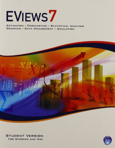 9780133548150: EViews 7.0 Software CD