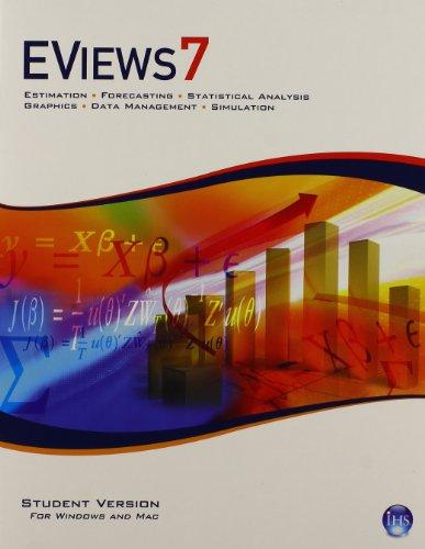 9780133548150: EViews 7.0 Software CD