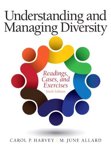 Understanding and Managing Diversity : Readings, Cases,: Carol Harvey; M.