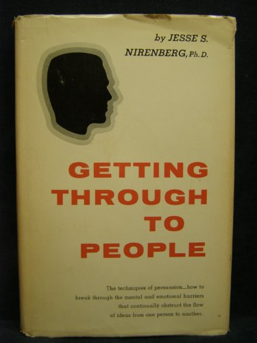 9780133548600: Getting Through to People