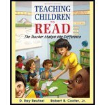 9780133548686: Teaching Children to Read:The Teacher Makes the Difference