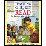 9780133548686: Teaching Children to Read: The Teacher Makes the Difference