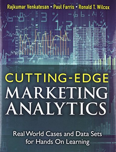 9780133552522: Cutting-Edge Marketing Analytics: Real World Cases and Data Sets for Hands on Learning