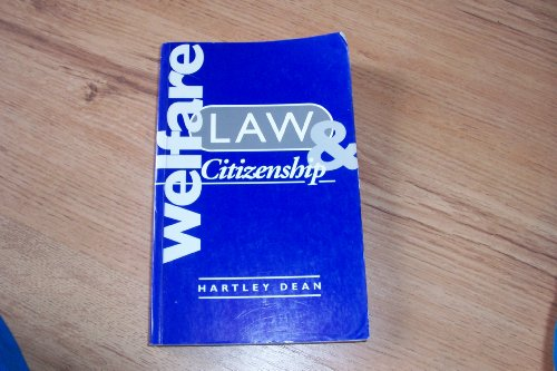 9780133552645: Welfare, Law and Citizenship