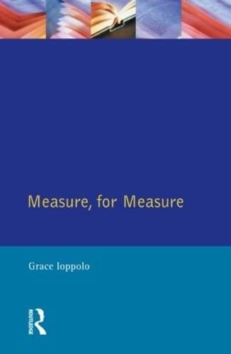 9780133553970: Measure For Measure: The Folio of 1623: Quarto of 1623 (Shakespearean Originals - First Editions)