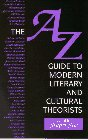 9780133555530: The A-Z Guide to Modern Literary and Cultural Theorists
