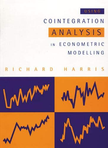 9780133558920: Cointegration Econometric Analysis