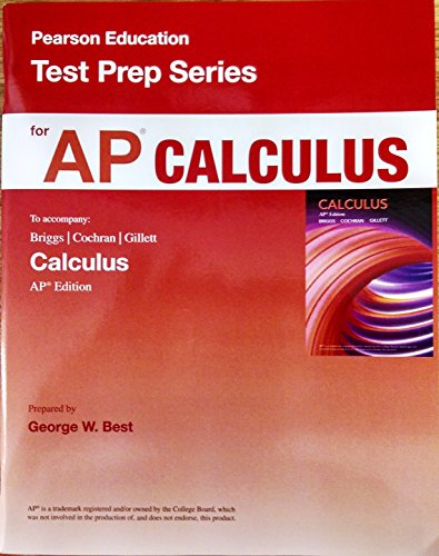 9780133563610: Pearson Education Test Prep Series for AP Calculus