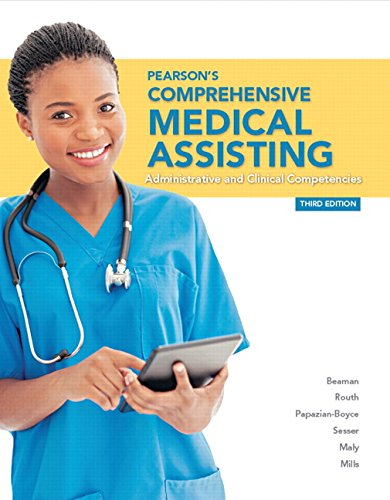 9780133563979: Pearson's Comprehensive Medical Assisting (3rd Edition)