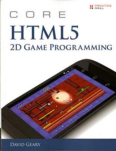 9780133564242: Core HTML5 2D Game Programming