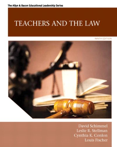 9780133564464: Teachers and the Law (Allyn & Bacon Educational Leadership)