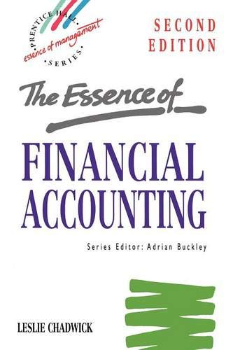 9780133565102: Essence Financial Accounting (Essence of Management)