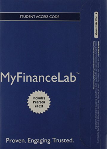 9780133565416: NEW MyFinanceLab with Pearson eText -- Access Card -- for Principles of Managerial Finance, Brief