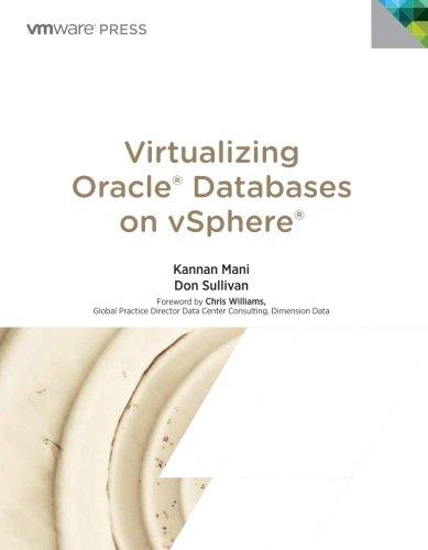 9780133570182: Virtualizing Oracle Databases on vSphere (VMware Press Technology)