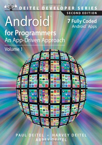 9780133570922: Android for Programmers: An App-Driven Approach: 1 (Deitel Developer)