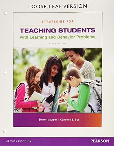 Strategies for Teaching Students with Learning and: Vaughn, Sharon