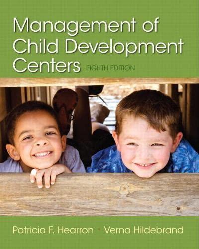 9780133571189: Management of Child Development Centers