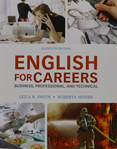 English for Careers: Business, Professional and Technical & MyWritingLab Generic -- Valuepack ...