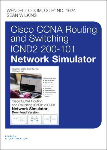 9780133573336: CCNA Routing and Switching ICND2 200-101 Network Simulator, Access Card