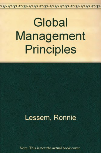 9780133573442: Global Management Principles