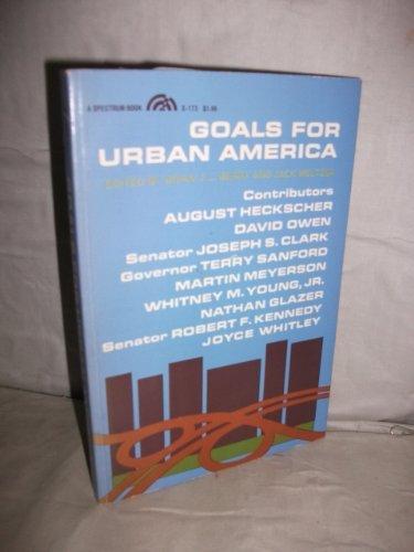 Goals for Urban America: Brian J. L.