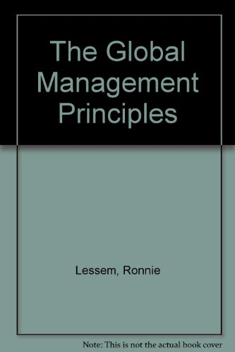 9780133573695: Global Management Principle